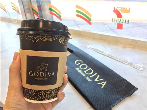 GODIVA,熱巧克力,7-ELEVEN,統一超,醇黑熱巧克力