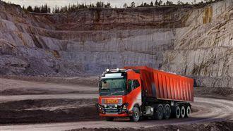 提高產能 Volvo以無人卡車採礦