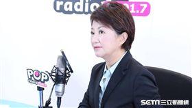 盧秀燕接受黃光芹專訪/POP Radio提供