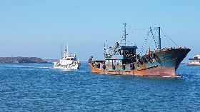 澎湖海巡查獲越界作業中國大陸漁船(1