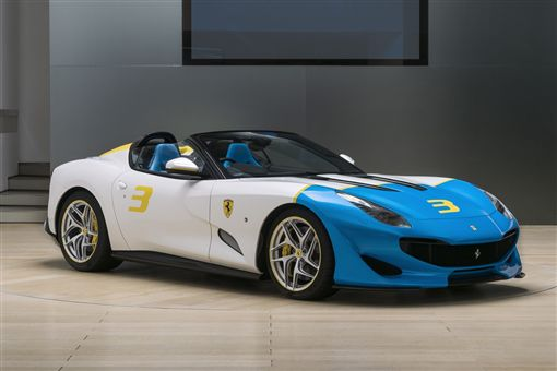Ferrari SP3JC。(圖/Ferrari提供)