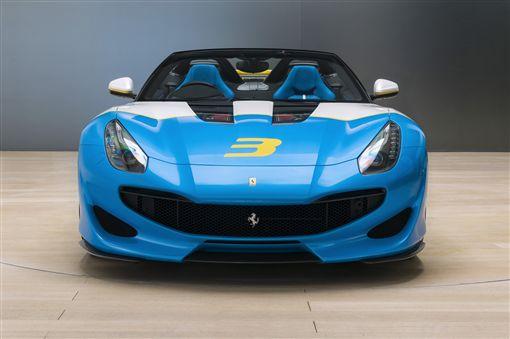 Ferrari SP3JC。(圖/Ferrari提供)