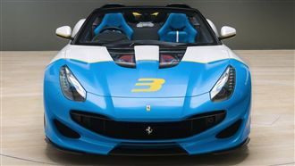 全球唯一私人訂製 法拉利SP3JC