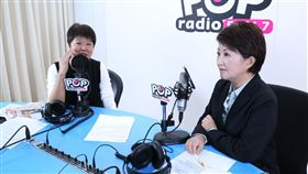《POP搶先爆》主持人 黃光芹 專訪:台中市長當選人 盧秀燕, 《POP搶先爆》提供