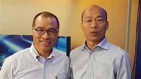 前交通部長葉匡時圖(左)確定出任高雄市副市長。(圖/翻攝自葉匡時臉書)