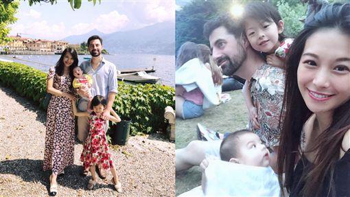艾莉絲一家人合成圖翻攝自艾莉絲 X IRIS臉書