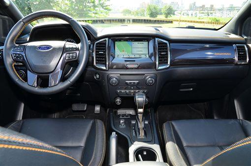 2019年式Ford Ranger。(圖/鍾釗榛攝影)