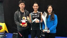 賴建誠(左)將接下中華羽球國家隊總教練。(圖/翻攝自戴資穎IG)