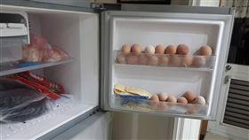 雞蛋,存放,冷凍庫,保存,爆怨公社 圖/翻攝自臉書爆怨公社