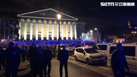 法國巴黎救護車集體罷工/讀者吳先生提供