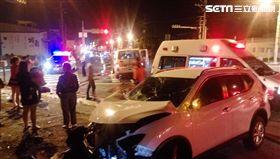 台南市,救護車,車禍,女童,受傷