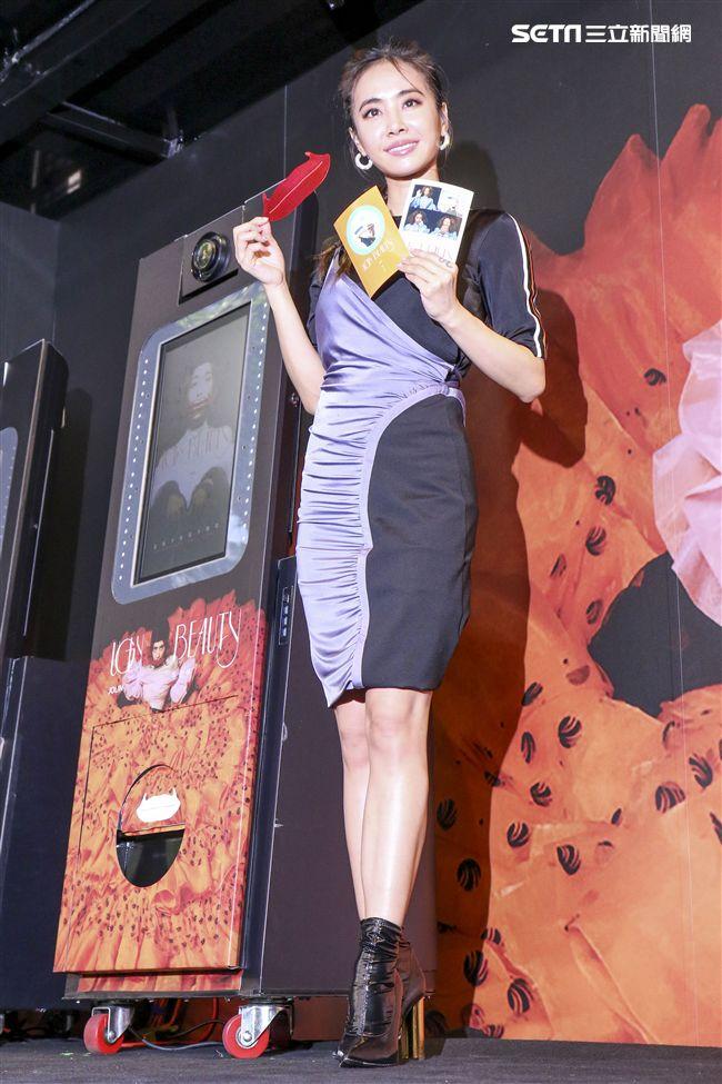 天后「Jolin」蔡依林睽違4年即將推出全新專輯《UGLY BEAUTY》,向外界分享她的內心世界。(記者林士傑/攝影)