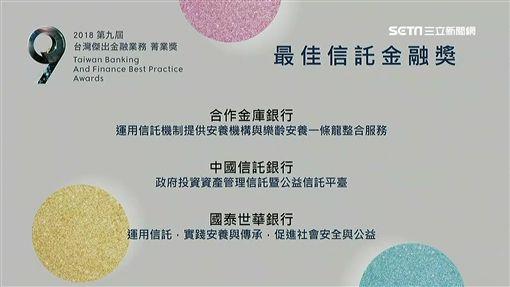 菁業獎,中國信託,金融研訓院 圖/業配