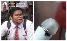 馬來西亞,少年戴耳機觸電身亡(圖/翻攝自臉書)