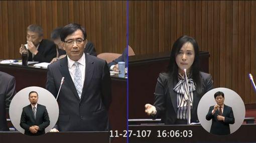 立委陳瑩等人提案要求普悠瑪列車行駛應降速,且變為「非傾斜式列車」。(圖/翻攝陳瑩臉書)