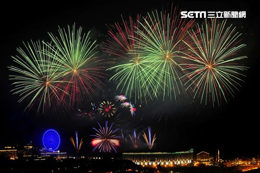 連假,跨年,義大世界,跨年煙火秀,999秒,煙火