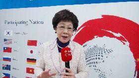 呂秀蓮首爾重申2020年台灣大選時和