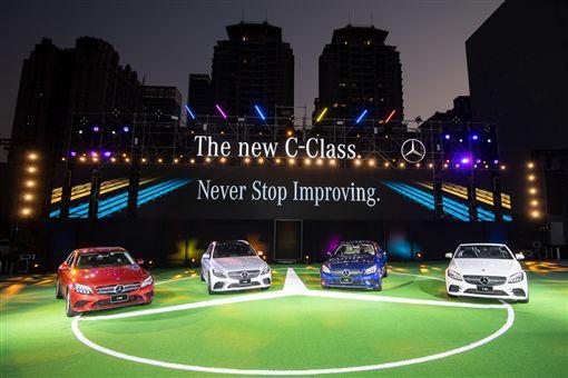 The new C-Class延續不間斷的優惠。(圖/Mercedes-Benz提供)