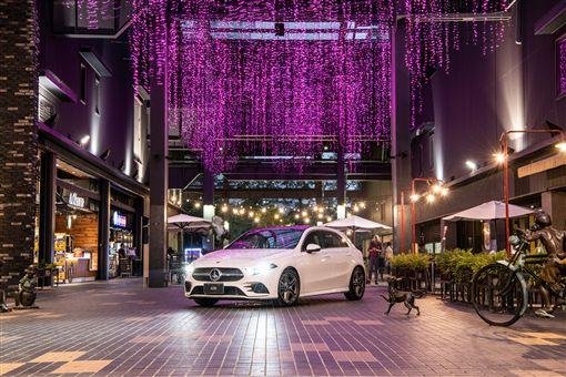 A250更推出100萬40期零利率方案。(圖/Mercedes-Benz提供)