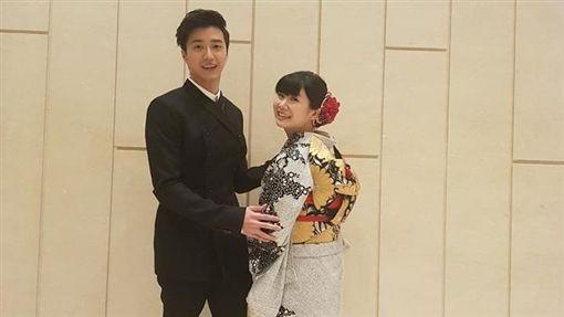 江宏傑,福原愛,女兒,小小愛/翻攝自江宏傑臉書