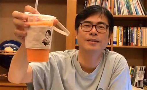 陳其邁,咖啡聚會,駁二,高雄 圖/翻攝自陳其邁臉書