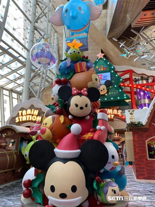 TSUM  TSUM聖誕市集。(圖/記者馮珮汶攝)