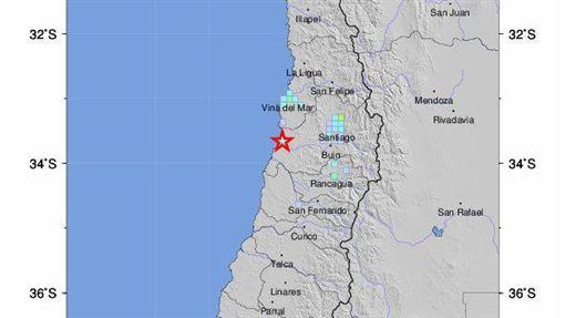 規模5.2地震襲擊智利中部