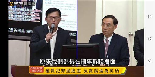 反貪腐,戰神,時代力量,黃國昌,法務部長,蔡清祥,李慶華