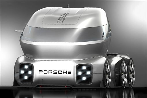 Porsche GT Vision truck。(圖/翻攝網站)