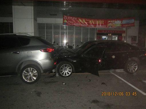 BMW,大七,福特,台中(翻攝畫面)