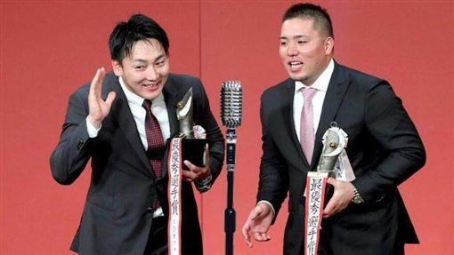 ▲山川穗高獲得洋聯MVP。(圖/翻攝自推特)