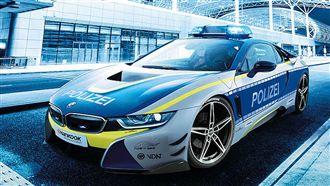 好羨慕!德國警方用這台車值勤
