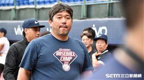 日本傳奇投手野茂英雄。(圖/記者王怡翔攝影)
