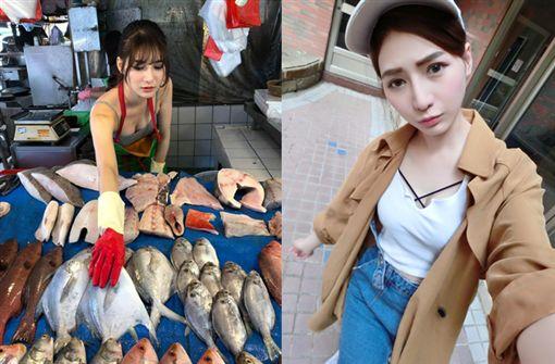 最美魚販遭爆炒新聞,臉書發文要去買魚的竟是經紀人。(圖/翻攝心-阿澎正傳臉書)