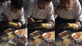 玉米,竹籤,牙縫(圖/翻攝自爆笑公社)