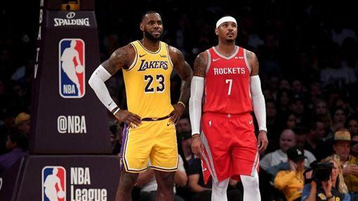 甜瓜去湖人?美媒曝詹皇想要他NBA,休士頓火箭,Carmelo Anthony,甜瓜,洛杉磯湖人,LeBron James翻攝自推特