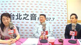 新北市議員何博文、葉元之上廣播專訪,臉書