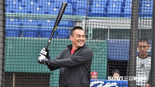 陳金鋒出席NIKE訓練營。(圖/記者王怡翔攝影)