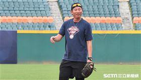 林恩宇出席 NIKE訓練營。(圖/記者王怡翔攝影)