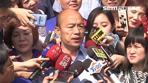 韓國瑜前往玉皇宮還願,新聞台