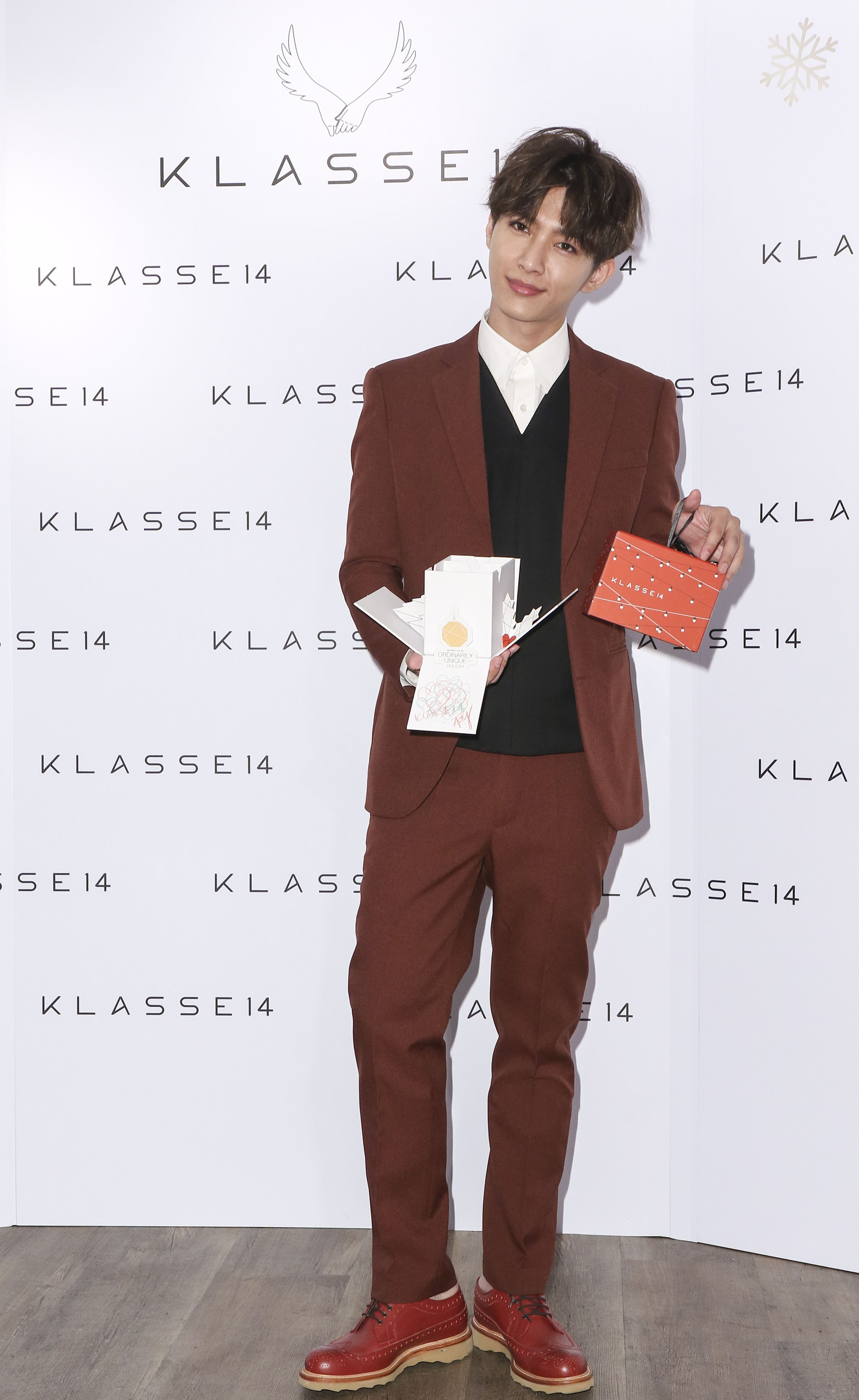 炎亞綸出席KLASSE14手錶品牌代言活動。(記者林士傑/攝影)