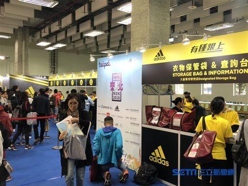 台北馬拉松有27000名跑者報名。(圖/記者劉忠杰攝影)