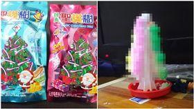 「紙樹開花」是很多人童年玩過的小物。(圖/翻攝自爆料公社APP、蝦皮拍賣)