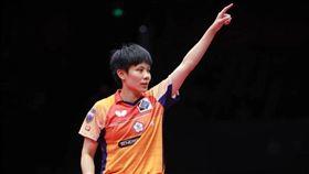 鄭怡靜第4度挑戰ITTF年終賽。(圖/翻攝自鄭怡靜臉書)