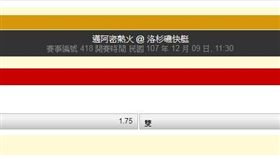▲台灣運彩在晚上9時40分還沒開盤。(圖/取自台灣運彩官網)