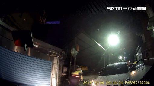 轉角遇見警,警匪追逐終被逮圖翻攝畫面