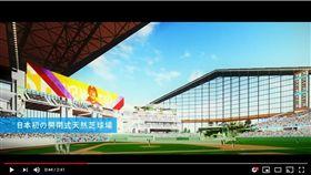 ▲日本職棒火腿鬥士隊新球場預計2023年啟用。(圖/翻攝自HOKKAIDO BALLPARK YouTube頻道)