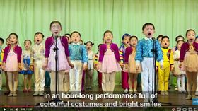 北韓,金日成,金正日,金正恩(圖/翻攝自法新社Youtube)