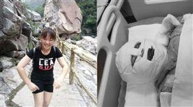 17歲女80%燒傷!心碎「爸都沒來看我」 一張照引淚崩(圖/翻攝自紫牛新聞)