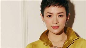 章子怡剪了超短髮。(翻攝微博)